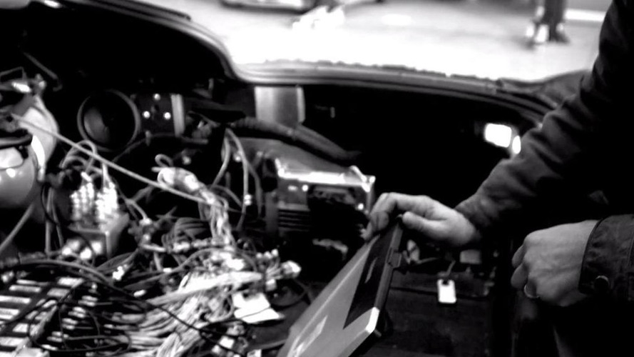 2014 Chevrolet Corvette teaser shows digital instrument cluster [video]