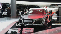 Audi R8 5.2 FSI quattro Dressed in Chrome Displayed in Frankfurt