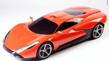 IED and DR Supercar Design Contest at Geneva