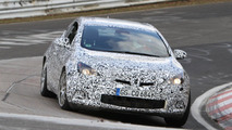 2012 Opel Astra OPC spied with less disguise