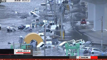 Japanese earthquake and tsunami shutter factories