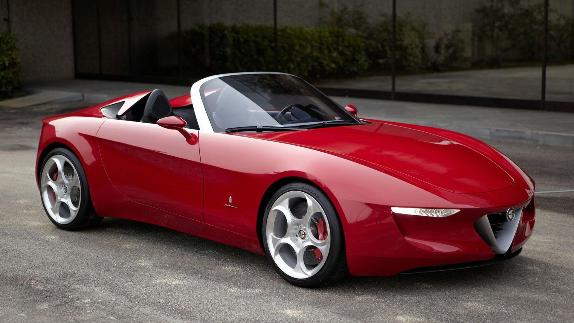 Alfa Romeo planning new Spider model to rival MX-5