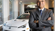 Lexus LFA personal liaison manager Devshi Varsani