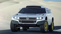 VW street legal Race Touareg 3 and Touareg Gold Edition concepts debut in Qatar