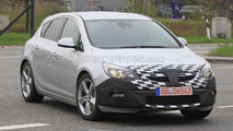 2011 Opel Astra GSI first spy photos