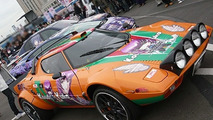 Lancia Stratos turned into manga car