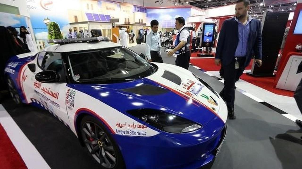 Lotus Evora first response vehicle