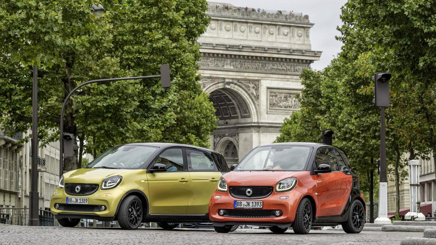 Smart introduces the entry-level ForTwo & FourFor