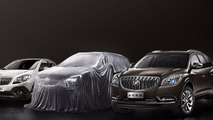 2015 Buick Envision teased for China