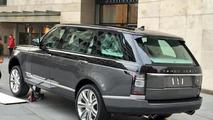 Ultra-luxury Range Rover spy photo