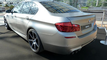 BMW M5 30 Jahre M5 special edition in on-board 0-300 km/h sprint [video]