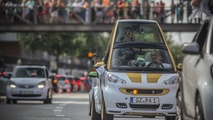 2016 Smart parade in Hamburg
