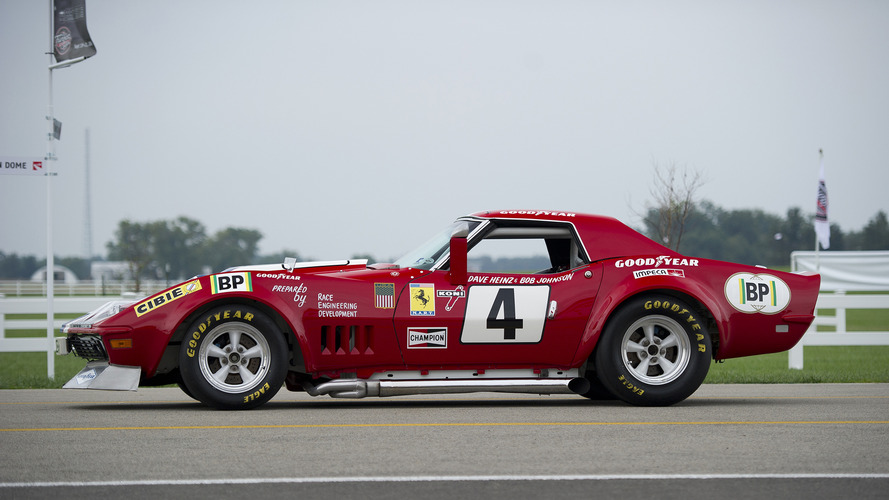 Goodyear Car >> The Corvette that masqueraded as a Ferrari to race at Le Mans