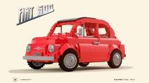 Vote for this Fiat 500 Lego kit