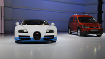 Bugatti Veyron 16.4 Grand Sport Vitesse Special Edition live in Paris 27.9.2012