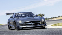 Mercedes SLS AMG GT3 45th Anniversary Edition roars into Sao Paulo [video]