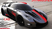 2nd place Street category - Group 500's Supercar Body Challenge
