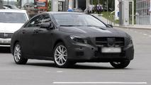 Latest spy photos of Mercedes CLA caught