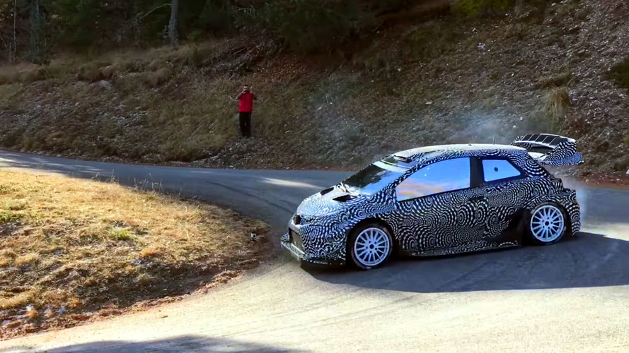 Toyota Yaris WRC race car wants to punch you in the face
