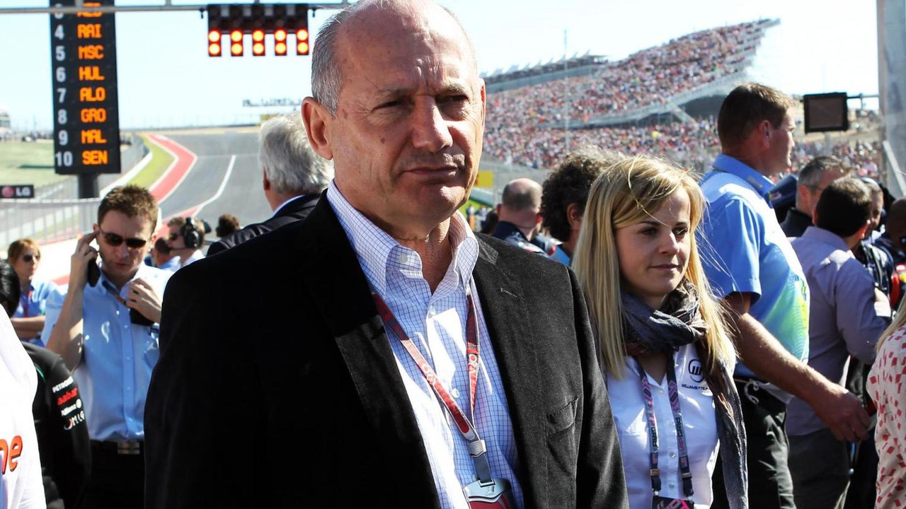 Ron Dennis 18.11.2012 United States Grand Prix