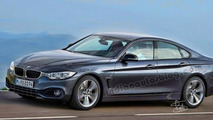 BMW 4-Series GranCoupe renders show what to expect from the real deal