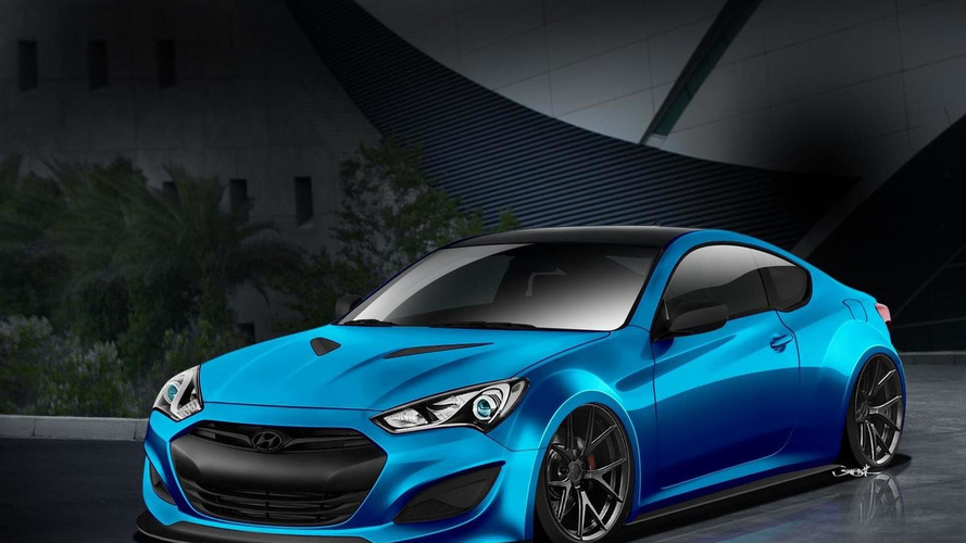 Hyundai previews four cars for SEMA [video]