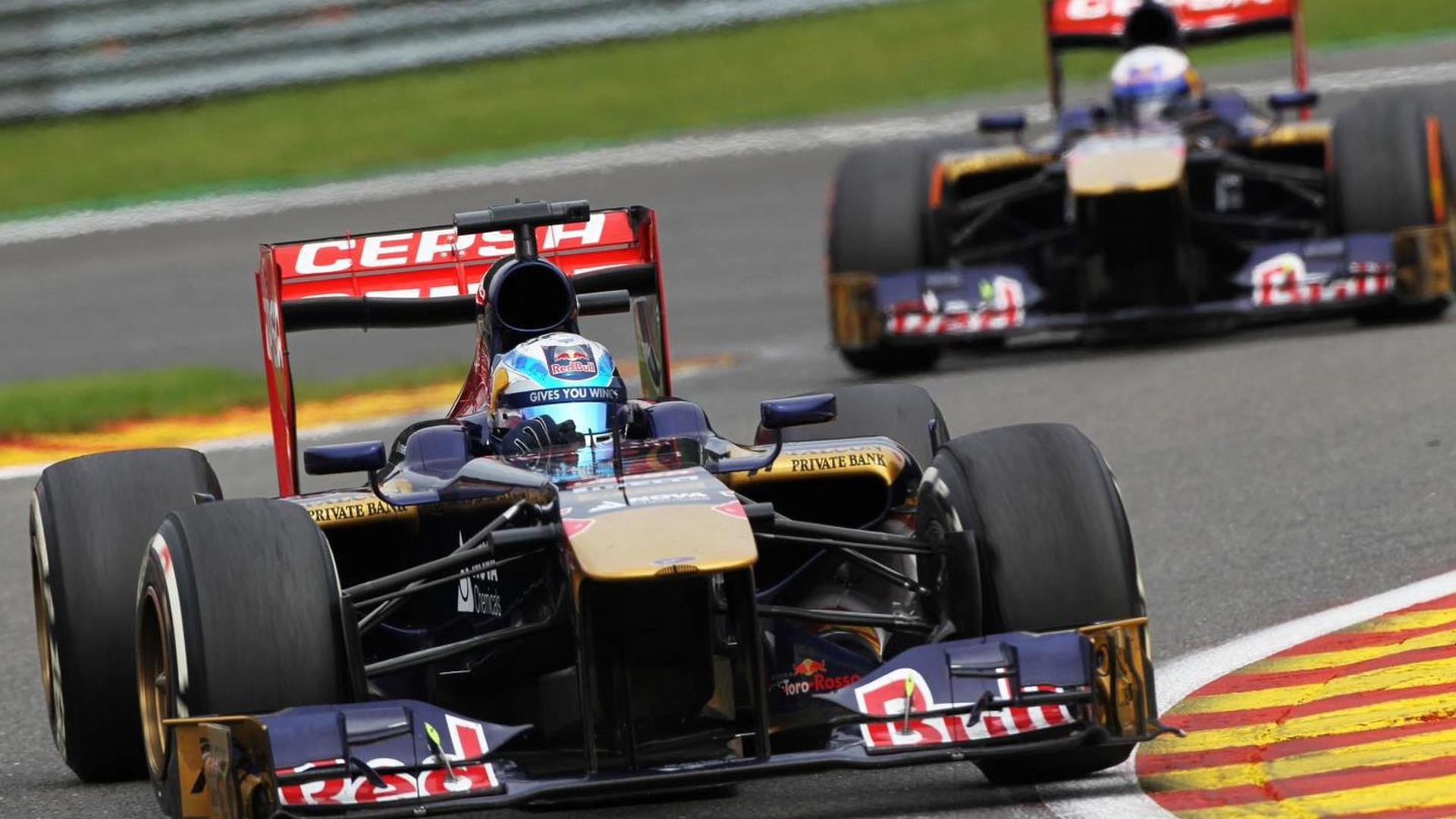 Toro Rosso drivers better than Sauber's - Tost
