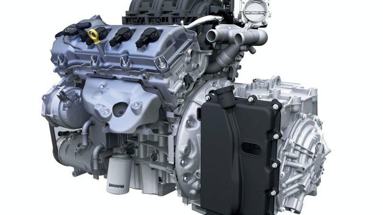 Ford D35 Engine-Transmission