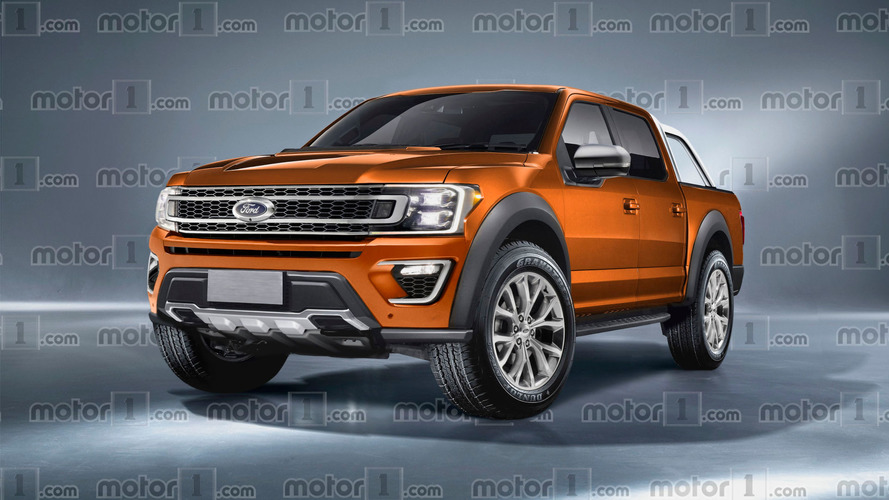 2019 Ford Ranger imagined as F-150's little brother