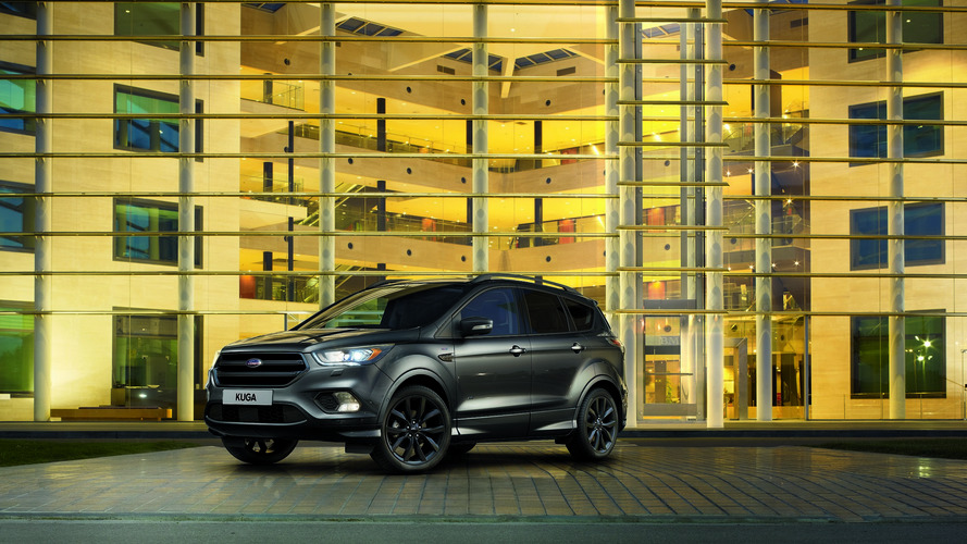 Ford Kuga ST-Line shows its dark side