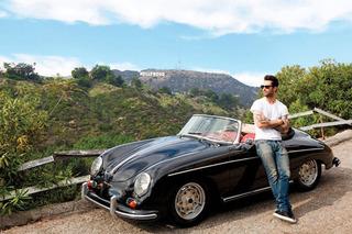 Adam Levine Spotted in his Immaculate Porsche 356A