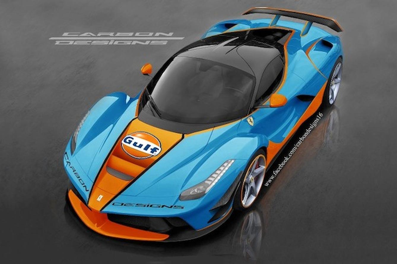 LaFerrari Sports Gulf Racing Livery