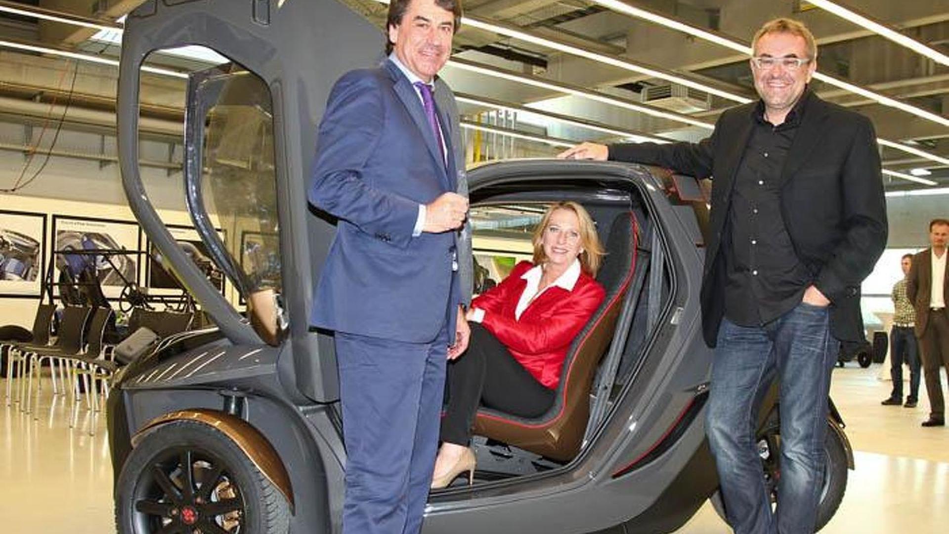 KTM E3W EV concept unveiled