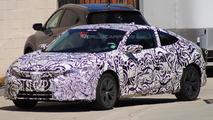 2017 Honda Civic Coupe spy photo