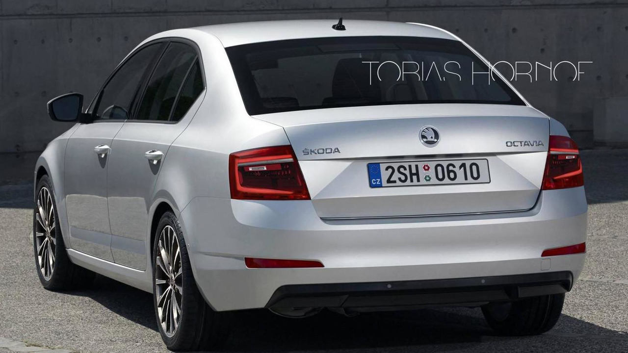 2017 Skoda Octavia facelift will allegedly have double ...