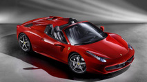 Ferrari 458 Spider first official photos