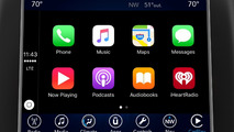 Uconnect infotainment system with Apple CarPlay
