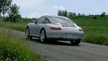 Uncovered Porsche 911 Targa Spy Photos