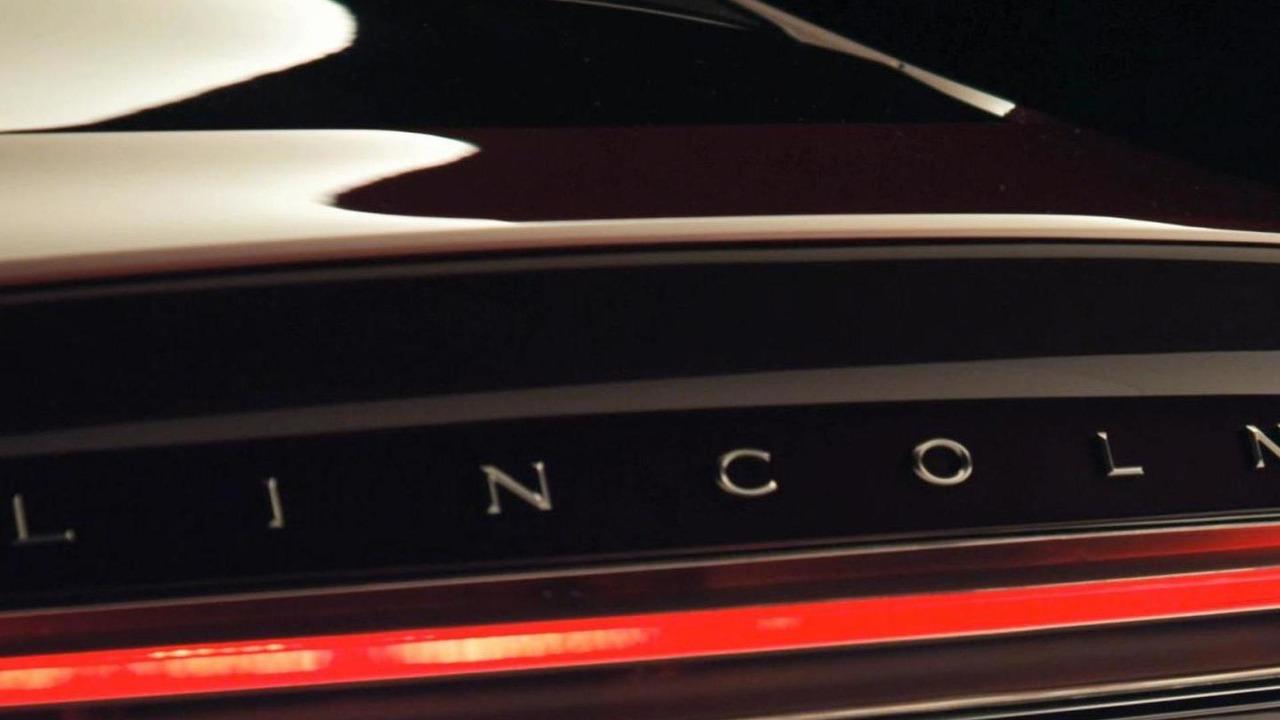 Lincoln MKZ concept teaser image