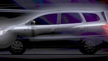 All-new 2013 Chevrolet Spin MPV teaser - digitally enhanced 13.06.2012