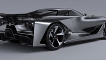 Nissan Vision Gran Turismo concept leaked photo
