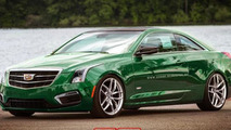 Cadillac ATS-V Coupe rendering / X-Tomi Design