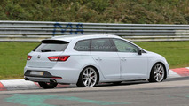 2015 Seat Leon ST Cupra spied without camouflage