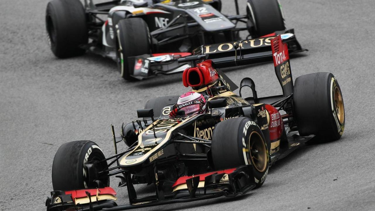 Heikki Kovalainen 24.11.2013 Brazilian Grand Prix