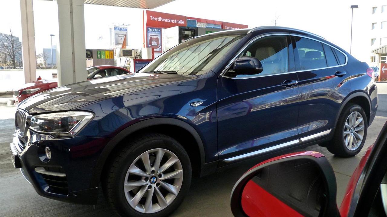 2015 BMW X4 prototype in Germany