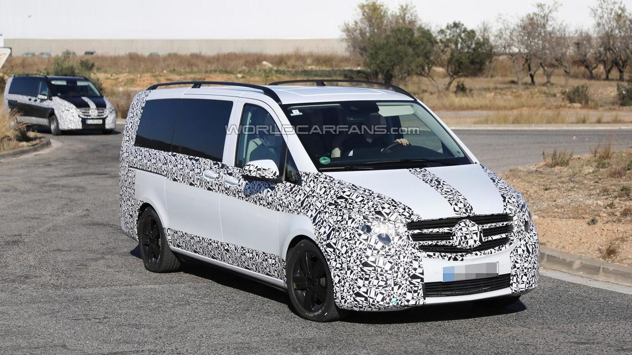 2014 Mercedes-Benz V-Class spy photo