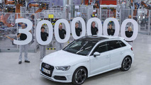 Audi builds its three-millionth A3