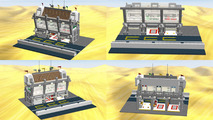 Visit Le Mans in Lego with this modular pit straight set