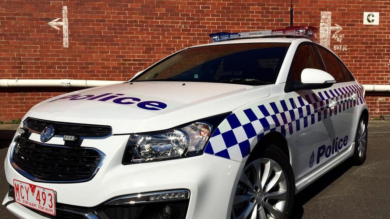 Holden Cruze police car