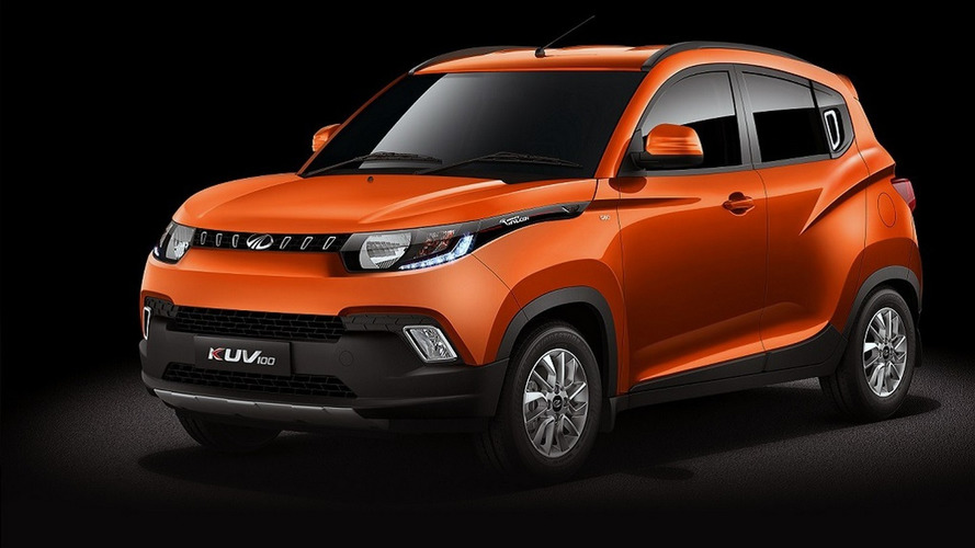 Mahindra KUV100 looks like a toy